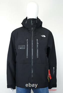 The North Face Men's XL Mountain Pro GTX Gore Tex 3L Hard Shell Ski Jacket BLACK