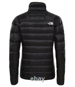 The North Face Pertex Womens Down Jacket In Black, Uk Size XS Extra Small