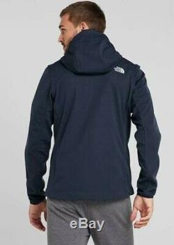 The North Face Tansa Softshell Mens Jacket XL Navy Blue WindWall Brand New