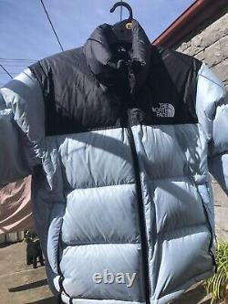 The North Face Women's 1996 Retro Nuptse Jacket. Sky Blue. Size XL. NFOA3JQRJK3
