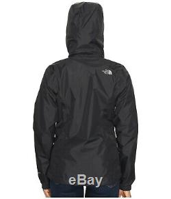 The North Face Women's Resolve 2 Jacket Waterproof Shell DryVent TNF Black NWT