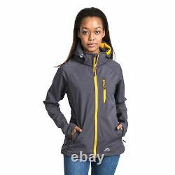Trespass Womens Softshell Jacket Water Resistant Windproof Outdoor Coat Lorina