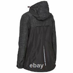 Trespass Womens Waterproof Jacket Ladies Raincoat XXS XXXL Attraction