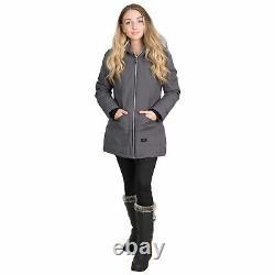 Trespass Womens Waterproof Parka Jacket Ladies XXS XXXL Daybyday