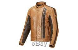 Triumph Raven Tan Leather Motorcycle Jacket Size Xxx-large Mlhs17320 Half Price