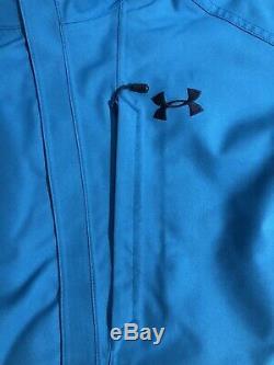 Under Armor Navigate Winter Snowboard Ski Coat Jacket Blue NEW Men's Large $200