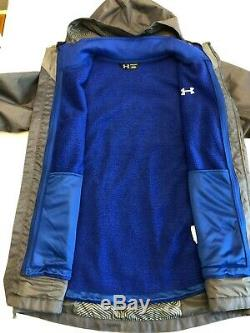 Under Armour NEW Porter 3 in 1 Coldgear Winter Jacket Men's Size Large 1300663