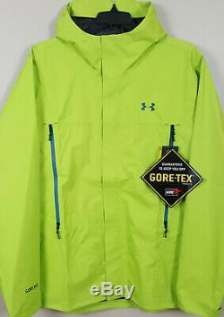 Under Armour Storm Paclite Gore-tex Jacket Lime Green New 1271465-324 (size 2xl)