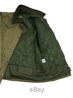 Waterproof Windproof Womens/Ladies Tweed Hunting Jacket