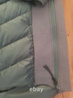 Women's Nike Tech Fleece Aeroloft Hooded Parka Jacket Sz S Grey 804976 021