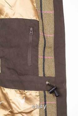 Women's Shooting Coat Rydale Ladies Waterproof Outdoor Jacket Tweed Pattern