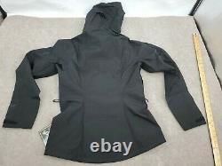 Women's Size Small Black Patagonia Calcite GTX Rain Wind Proof Jacket $249 84996