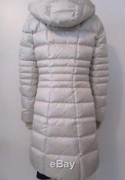 Womens The North Face TNF Metropolis 2 Long Down Parka Warm Winter Jacket Grey
