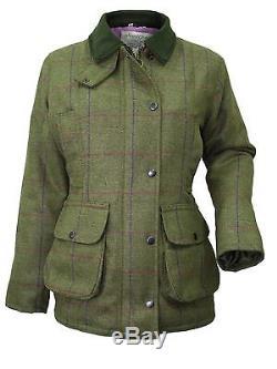 Wood Green Womens/Ladies Tweed Hunting Jacket