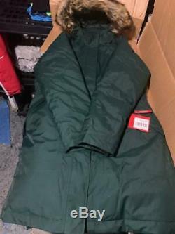 299 $! Veste Hiver Chaude Warm Down Parka Arctic Down Pour Femmes Des Territoires Du Nord-ouest, Vert M