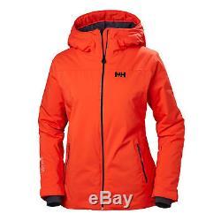 300 $ Tno Helly Hansen Veste De Ski Pour Femmes Sunvalley, Imperméable, XL