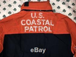 $ 395 Polo Ralph Lauren Coupe-vent Coastal Naval Patrol Rescue Veste L M