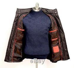 3pc Lot Isaia Brown Veste De Pluie 54 Fits L Zegna 100% Cachemire 75x59 Couverture