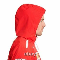 762365-01 Homme Puma Scuderia Ferrari Sf Team Jacket Rosso Corsa