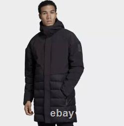 Adidas Hommes Myshelter Climaheat Parka Hoodie Winter Down Jacket Dz1421 Dz1419 M