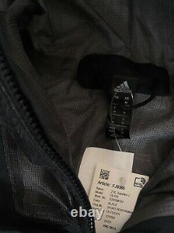 Adidas Hommes Terrex 2.5 Layer Zupahike Pluie Veste Randonnée Courant Noir Fj9366 M