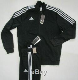 Adidas Hommes Tiro 19 Track Suit, Nouvelle Veste Pantalon Combo Sweatpants Climalite Sz L
