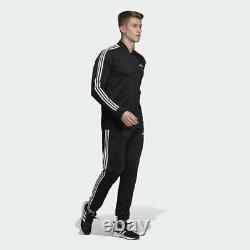 Adidas Mts 3 Stripes Track Suit Jacket Pants Black White 3 Stripes Dv2448 Homme