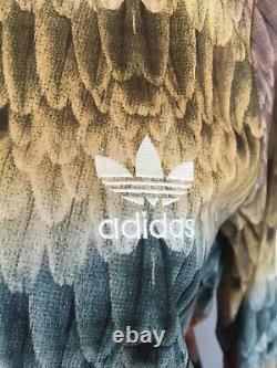 Adidas Originals Farm Menire Fb Tt Track Jacket # S19333 Multi Plumes Firebird