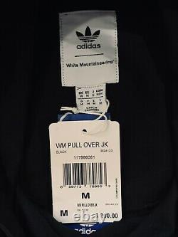 Adidas Originals X Blanc Alpinisme Hommes Pull Jacket Bq4123 Noir Taille M