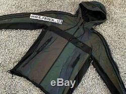 Adidas Veste Coupe-vent Xeno M Arc-en-réfléchissant 3m Medium Black Multi Fw15