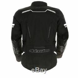 Alpinestars Andes V2 Touring Drystar Textile Imperméable Veste Moto Noir