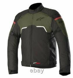 Alpinestars Hyper Drystar Imperméable Veste Moto Moto Military Green