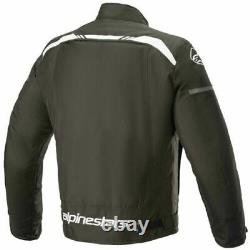 Alpinestars T-sps Waterproof Textile Jacket Moto Moto Noir Blanc