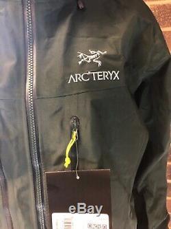 Arc'teryx Alpha Sv Veste Moyenne Adriatic Green New Men Avec Des Étiquettes De 785 $