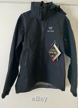 Arc'teryx Beta Ar Gore-tex Shell Jacket Mens Black Petite Marque New 2020 Sl Sv