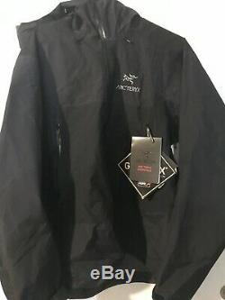 Arc'teryx Beta Sl Hybrid Black Rain Jacket Shell Grand New Avec Men Tag