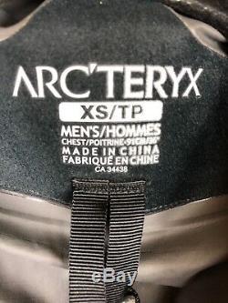 Arc'teryx Blouson Anorak Compressible Ascent Alpha Sl Noir Pour Homme Xs Tn-o.