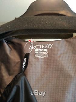 Arc'teryx Homme Alpha Fl Goretex Veste Gris Hommes Moyen Tn-o. $ 350cad