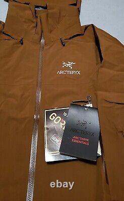 Arc'teryx Homme Beta Ar Pro Gore-tex Jacket Caribou Medium Nouveau