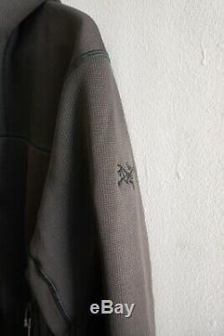 Arc'teryx Leaf Naga Hoody Loup Gris Hommes Petit Neuf Avec Des Étiquettes