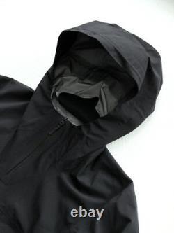 Arc'teryx Veilance Black Conduct Anorak, Tailles Large & XL Bnwt, Rrp 775 £