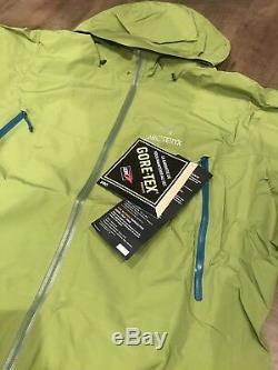 Arcteryx Beta Lt Jacket- Gore-tex Pro Saguaro Vert XXL 550 $ Tn-o