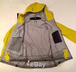 Arcteryx Saber Jacket Hommes M Lichen Jaune Snowboard Ski Gore-tex Recco