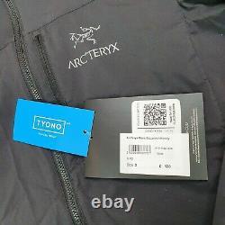 Arcteryx Veste À Capuche Squamish 2021 Noir Révisé Small Bnwt Rrp 130 £