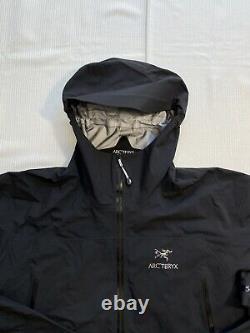 Arcteryx Zeta Ar Gore-tex Veste De Shell Dur Noir 16473 Nouveauté Avectags Hommes XL