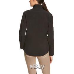 Ariat Ladies New Team Noir Softshell Full-zip Jacket 10019206