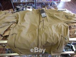 Au-delà De L'habillement Rig Clair Veste Softshell XXL Coyote Brown Avec Des Étiquettes