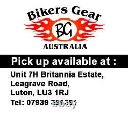 Australian Biker Gear Motorcycle Hoodie Jacket Entièrement Doublé De Kevlar Ce Armour