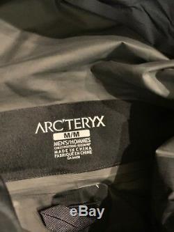 Auth Nwt Arc'teryx Veste Beta Sl Pour Hommes, Taille Moyenne, Noir 299 $