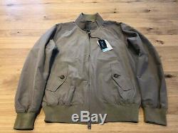 Baracuta G9 Harrington Jacket Tan Uk 40 Medium Nouveau Bnwt Rrp £ 295
